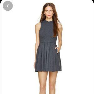 NWT New Kasuga Talula Charcoal Dress with Pockets